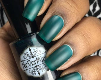 Ooze - Turquoise Jelly Polish - Sheer Blue Green Nail Polish - U Jelly?