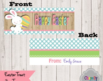 Happy Easter Printable Bag Toppers - BT002