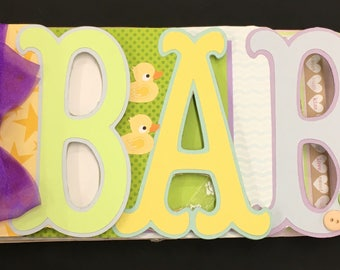 Baby Altered Chipboard Album