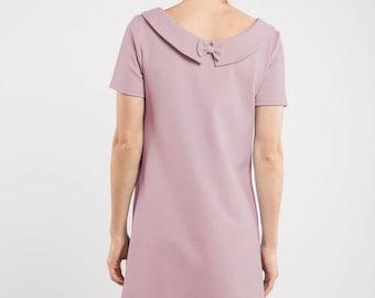 Rose dress | Dusty rose dress | Special event dress | LeMuse rose dress