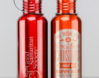 Custom 25 oz Laser Engraved Bottle