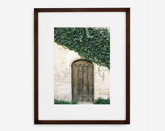 Ivy church door, Fine Art Photograph, Home Decor