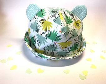 Chapéu de bebé unisexo | BABY/SUNHAT/BABYHAT/ baby clothing/baby stuff/ baby summer clothes/ baby sewing hat/ baby sewing