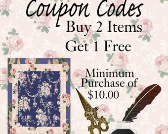 Buy 2 Get 1: Please don't purchase this listing, it is only to illustrate how the coupon code works. Does not apply to Commercial License.