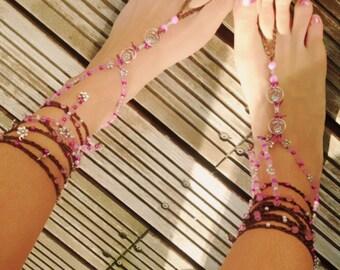 Bianca Barefoot Sandal Barefoot Sandals Boho Hippie
