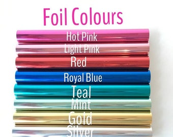 Minc REACTIVE FOIL - 12.25 Inch - Heidi Swapp Foil Machine - 9 Colours - SAVE 25%