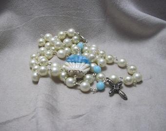 Seashell rosary