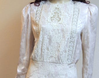 McClintock Victorian Style Afternoon Tea Dress Tag size 10