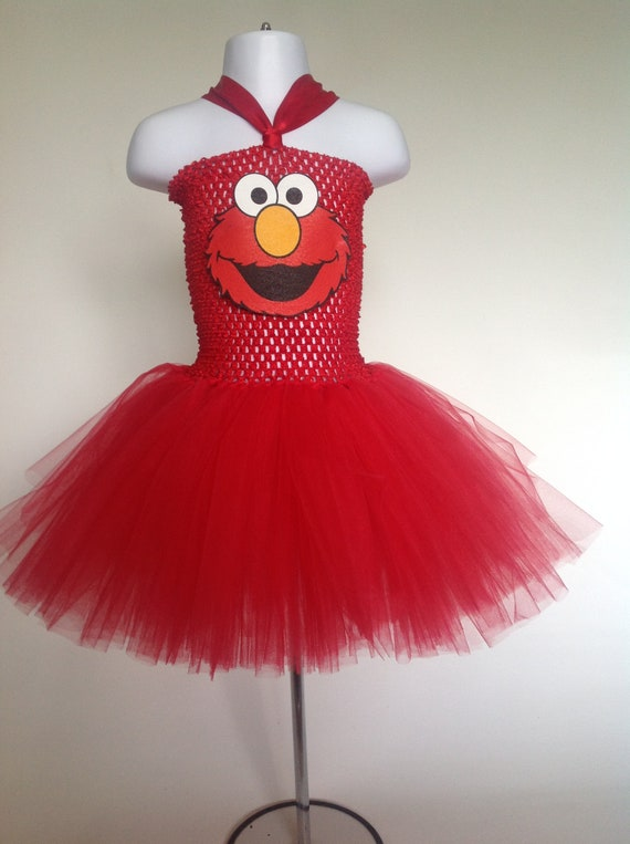 Sesame Street Elmo Tutu Dress