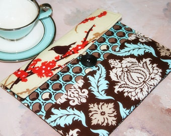 Ipad Case, iphone accessories, home and living, Ipad 2 case, Envelope Ipad Case, Ipad Sleeve in Sparrows