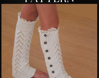 Leg Warmers Knitting Pattern, Boot Toppers, Bestfriend Gift, College Student Gift, Knit Boot Cuffs, Fall Boot Socks, pdf Pattern, Boot Cuffs