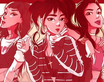 RED VELVET kpop | Bad Boy | Láminas | Joy, Irene, Seulgi, Yeri, Wendy