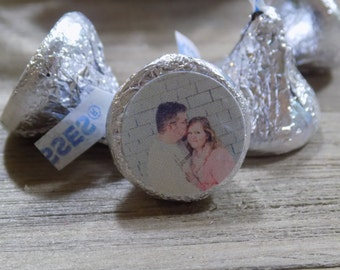 Personalized Hershey Kiss Picture Sticker