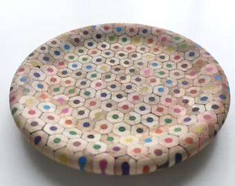 Colourful Pencil Coaster