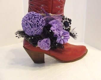 Cowgirl Western Boot Bling Cuff