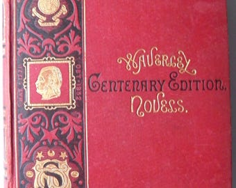 Peveril of the Peak Sir Walter Scott Centenary Edition 1871 Waverley Novels