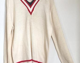 Vintage Rare Jantzen NFL V-Neck Sweater The Expandables