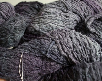Whisper Hand-dyed Cotton Yarn, 225 yds - Storm Tonal