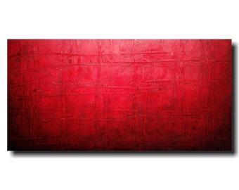 Original Abstract Large painting - large artwork 24 X 48  JMJartstudio- Sinful -Wall art-wall decor - painting--custom