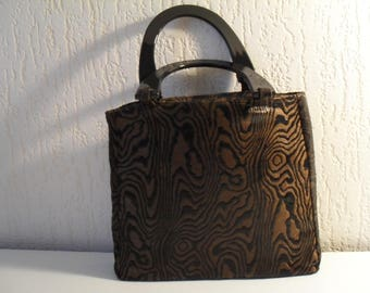 Rigid bag chocolate and black