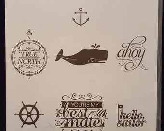 Hello, Sailor Clear Mount Stamp Set by Stampin' Up!
