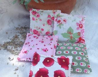 Floral Fabric Lavender Sachets