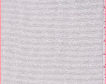 Canvas Beige Polyester Crepe, Fabric By The Yard