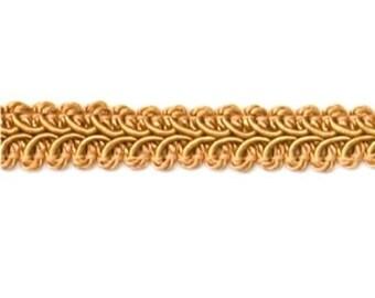 """E1901 Gold Gimp Sewing Upholstery Trim 1/2"""" (E1901-GL)"""