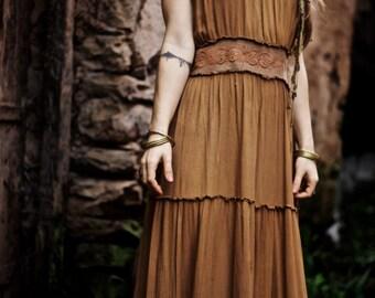 Brown Summer Light dress