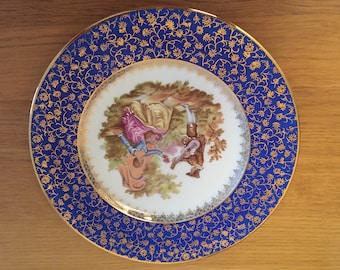 Limoges France porcelain china plate