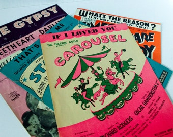 Vintage 5 Piano Sheet Music