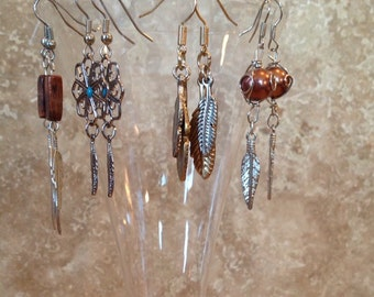Feather earrings!*** clearance ***