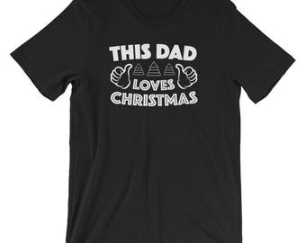 Funny Merry Christmas Gift This Dad Loves The Holiday