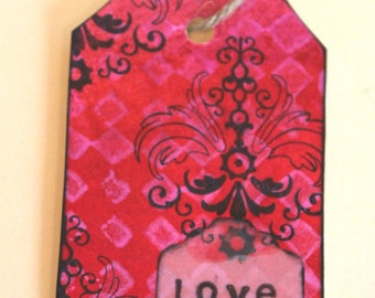 Handmade Tag & Bookmark # 11