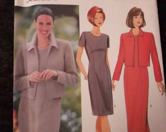 Butterick 6209, Misses Dress and Jacket Pattern