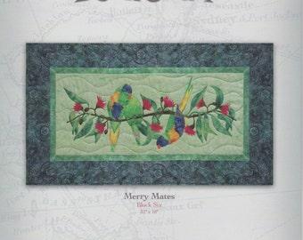 Chrissy Down Under by McKenna Ryan, Merry Mates Quilt Pattern, Block 6 (CDU06)