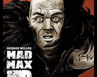Mad Max 2 - The Road Warrior full colour art print