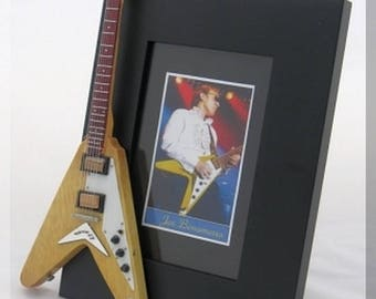 JOE BONAMASSA  Miniature Guitar Picture Photo Frame 2
