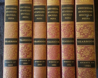Universal standard encyclopedia Funk and Wagnalls Yearbooks