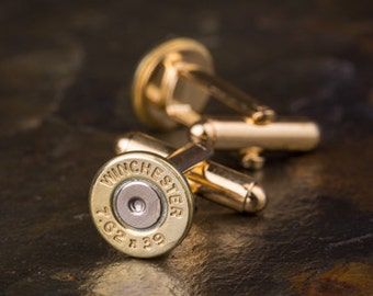 Bullet Cufflinks, Winchester AK47 Brass Bullet Cufflinks, Wedding Cufflinks, AK-47 Cufflinks, Wedding Cuff Links, Bullet Cuff Links