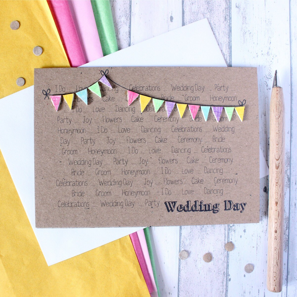 Personalised Wedding Card Wedding Card Wedding Cards
