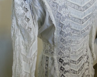 Edwardian vintage wedding bridal dress SALE