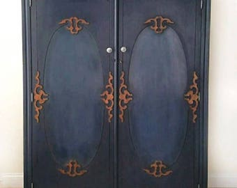 Vintage Armoire /Wardrobe