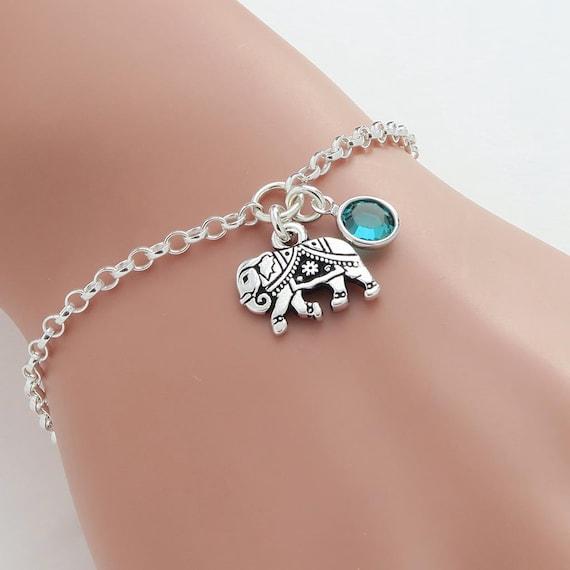 Personalised Elephant Bracelet