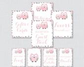 Printable Pink and Gray O...