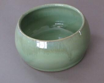 Medium sized Spaniel bowl, dog dish, pet bowl, ceramic