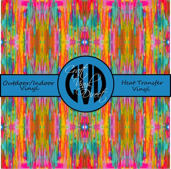 Beautiful Patterned Vinyl // Patterned / Printed Vinyl // Outdoor and Heat Transfer Vinyl // Pattern 697