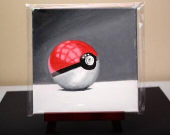 Pokeball - Original Oil Painting