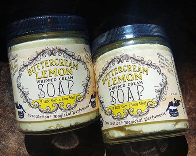 Handmade Whipped Cream Soap for Bathing & Shaving - Choice of Scents! - Love Potion Magickal Perfumerie