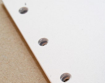 Notepaper inserts - Fits Filofax or Organiser - white - A5/personal/pocket/mini